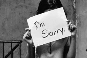 英語のメール 謝罪